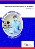medical and surgical nursing
