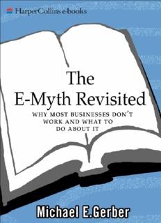 Revisited michael the e myth gerber e pdf by