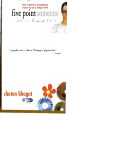Five Point Someone 153 Pages