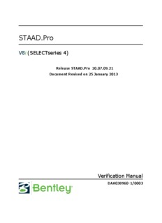 technical reference manual staad pro v8i