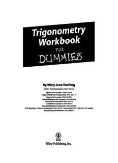 Trigonometry Workbook For Dummies Pdf Pdf Drive