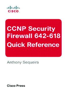 Ccnp Security Firewall Pdf