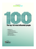 Accounting Today - The Top 100 Most Influential People 2011