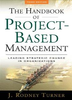 Handbook of Project-based Management : Leading Strategic