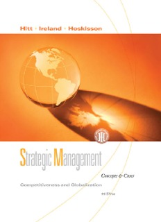 Strategic Management, 8th ed.