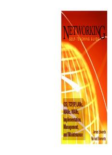 Networking Self-Teaching Guide