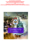 JDP 5-00: Campaign Planning (Second edition, change 2)