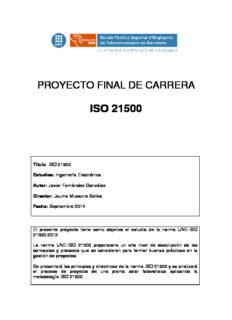Espanol iso 21500 pdf