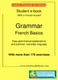French Basics Grammar Book - Learn French at Home