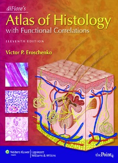Difiores Atlas Of Histology With Functional Correlations Pdf