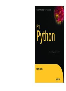 Pro Python Pdf Pdf Drive