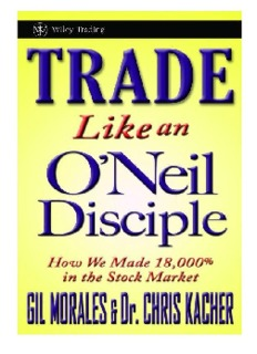 Trade Like An O Neil Disciple Pdf Drive