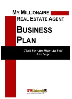 Real Estate Business Plan | My Millionaire Real Estate Agent Business Plan Pdf Drive