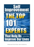 Self Improvement – The Top 101 Experts that Help Us Improve Our Lives