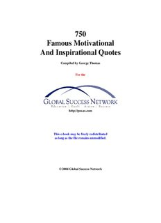 750 Famous Motivational And Inspirational Quotes Pdf Drive