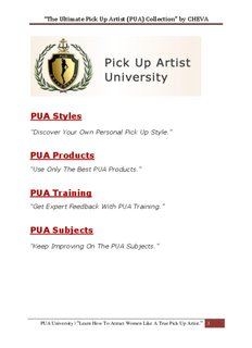 Pua routines pdf