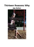 13 Reasons Why Free PDF Download | Jay Asher