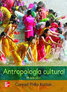 antropologia cultural kottak