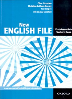 Total English Pre Intermediate Workbook Pdf