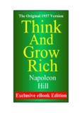 Napoleon Hill - Think and Grow Rich - Huna Hawaii Home Page