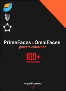 Primefaces Cookbook Pdf