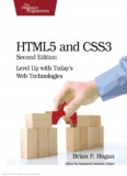 HTML5 and CSS3 2nd Edition: Level Up with Today's Web Technologies