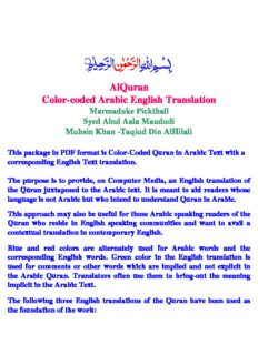 Quran Pdf With English Translation