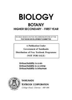 Pdf books general biology