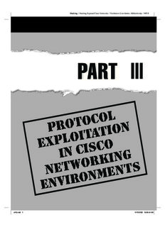 Exposed networks hacking pdf cisco
