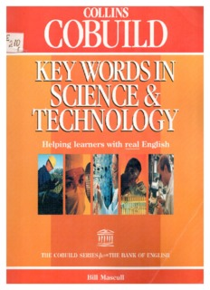 collins cobuild keywords in science and technology bill mascull rh pdfdrive com