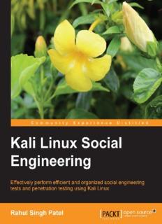 Kali Linux Social Engineering It Tutorials By Rahul Singh Patel