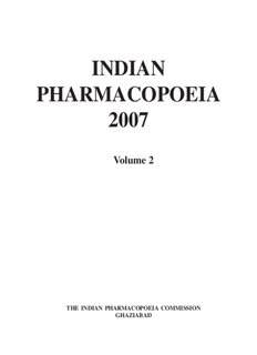 INDIAN PHARMACOPOEIA 2013 PDF DOWNLOAD