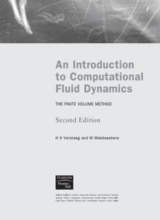 An Introduction to Computational Fluid Dynamics - Books