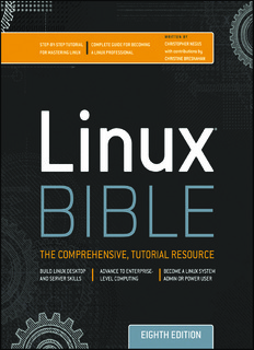 Linux Bible By Christopher Negus Pdf Drive