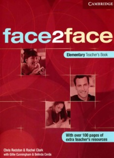 Students face2face pdf elementary book second edition