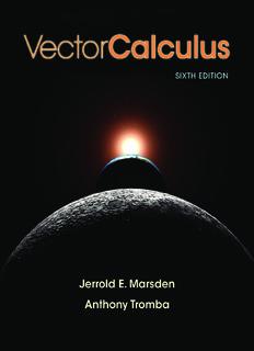 Vector Calculus Sixth Edition