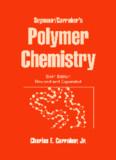 Polymer Chemistry, Sixth Edition