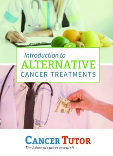 Introduction to Alternative Cancer Treatments - PDF Drive