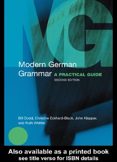 For beginners pdf german books