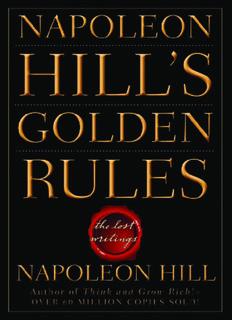 Napoleon Hill's Golden Rules - WordPress.com