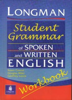 Longman Student Grammar of Spoken and Written English Workbook.pdf