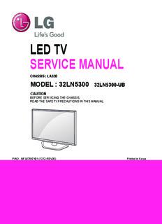 Book pdf repair tv