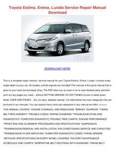 toyota estima emina lucida service repair manual download pdf drive rh pdfdrive com