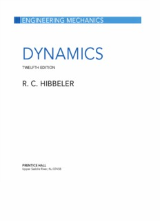 Vector Mechanics For Engineers Dynamics 8th Edition Pdf