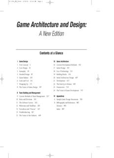 Game Architecture And Designpdf PDF Drive - Game architecture and design