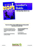 The Story of Hope-Kids Leader's Guide - ABWE