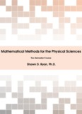 Mathematical Methods for the Physical Sciences