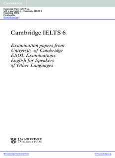 Cambridge Book 6 Pdf