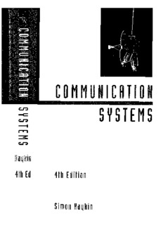 Modern Wireless Communication Systems By Simon Haykin Pdf