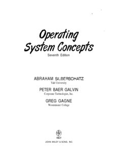 Silberschatz Operating System Pdf